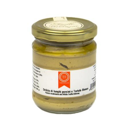 Porcini Mushrooms and White Truffle Sauce
